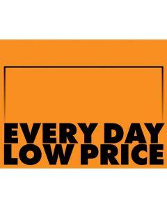 Fluorescent Everyday Low Price Orange - 1-UP