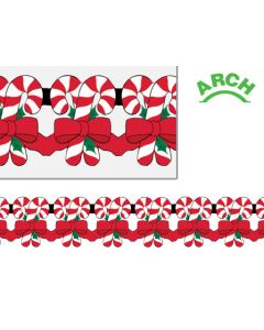 12' Printed Candy Can Arch Garland - HOL-0473