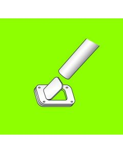 Aisle Spanner w/Adhesive Back Clip