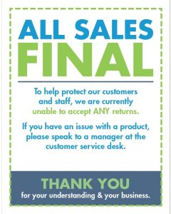 All Sales Final Kit