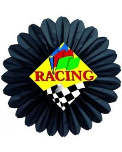 Auto Racing - Racing Flag Fan