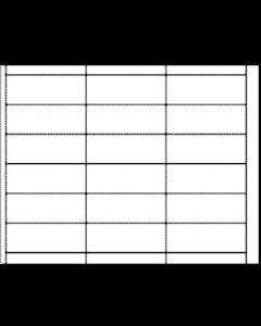 Generic Vinyl - Blank 18Up Tag