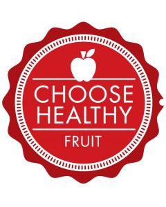 Choose Healthy - Fruit Shelf Talker