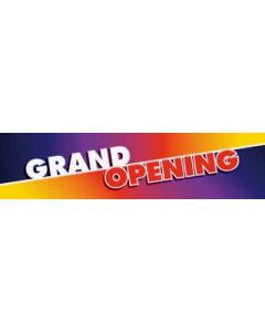Grand Opening Banner #1