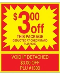 $3.00 Off Package Coupon