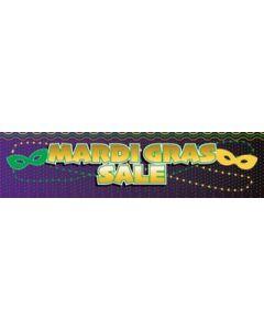 Mardi Gras Sale Banner