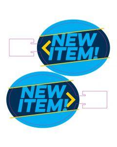New Item Wobbler - Blue