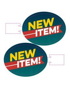 New Item Wobbler - Gray