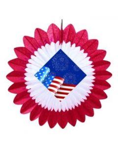 Patriotic/Fourth of July - Patriotic Fan
