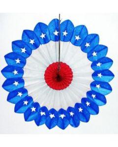 Patriotic/Fourth of July - Star Fan Burst