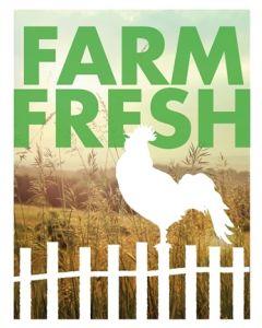 Poster - Farm Fresh C