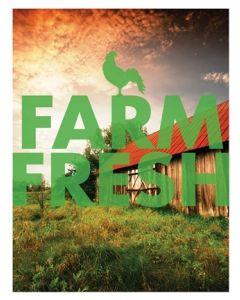 Poster - Farm Fresh D