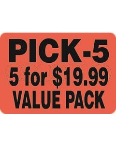 5 For $19.99 Value Pack