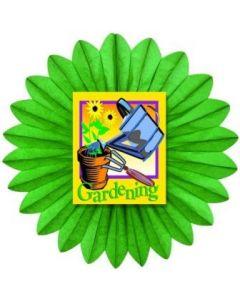Spring - Garden Fan - Diecut