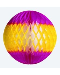 Spring - Yellow/Cerise Ball