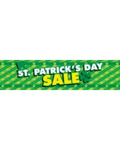 St. Patrick's Day Sale Banner