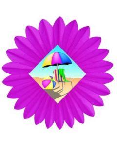 Summertime - Beach Fan